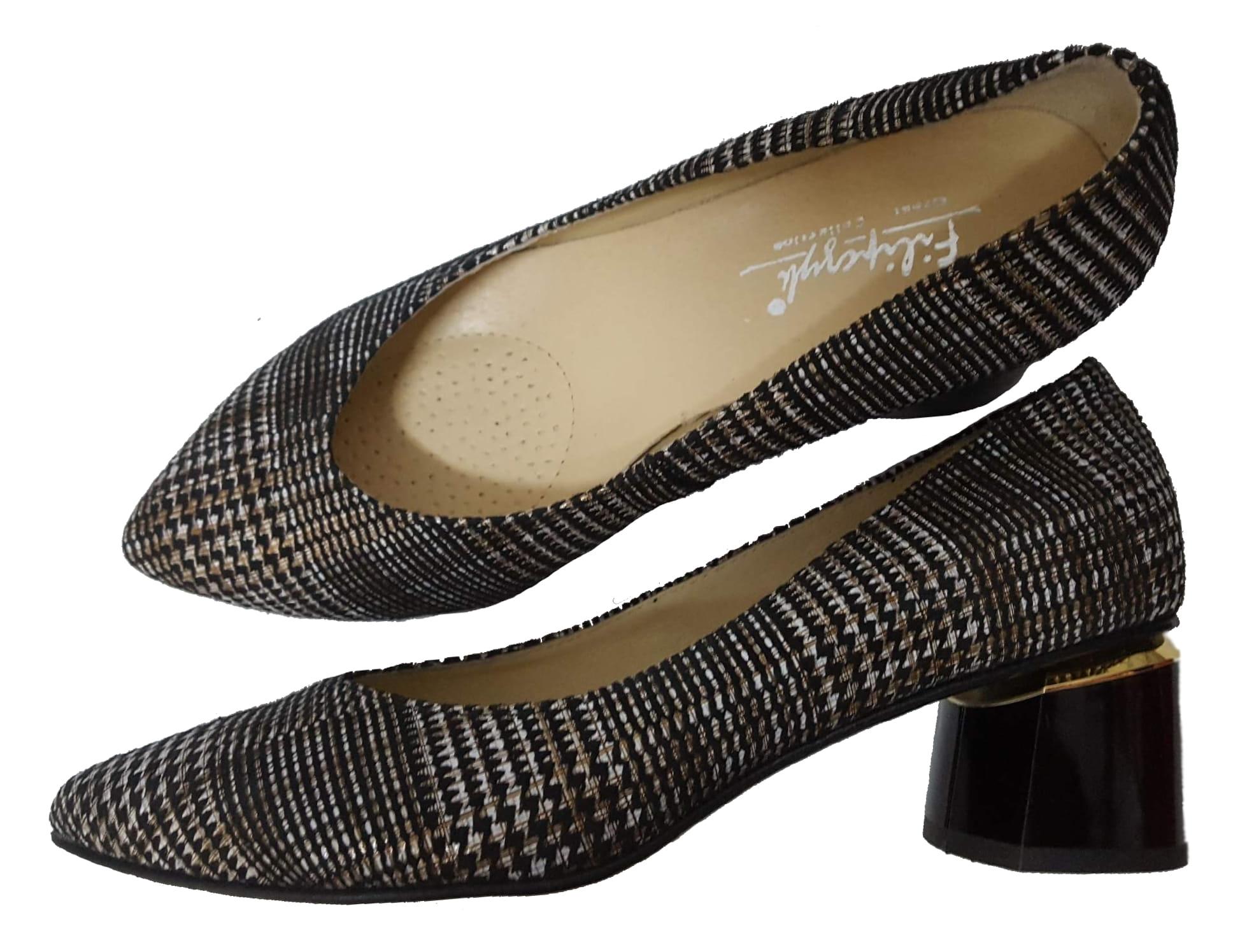 FK 9882W skóra naturalna różne kolory różne tęgości butów obcas 5 5,5 cm różne rodzaje skóry rozmiar 41 46