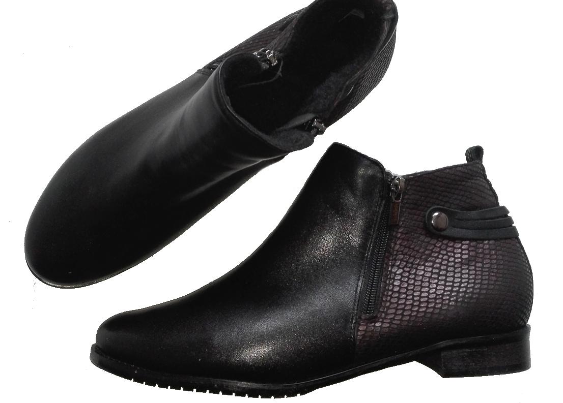 *** Model Tęga Stopa FK 9642 skóra naturalna wykonanie jesienne lub zimowe rozmiar 41 46 różne tęgości butów